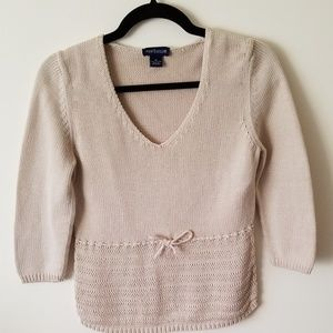 🆕️ Ann Taylor Sweater Medium in Oatmeal